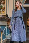 """Платье 19-116 """"полусолнце"""" лапка. Купить оптом и в розницу"""