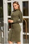 Платье 19-114 футляр хаки. Купить оптом и в розницу
