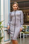 Платье 19-114 футляр пудра. Купить оптом и в розницу
