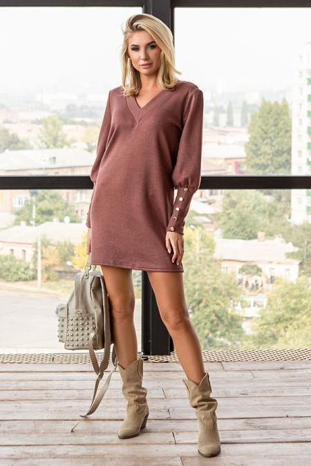 Платьем 20-088-30 ангора люкс капучино