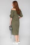 Платье 17-61 сафари хаки