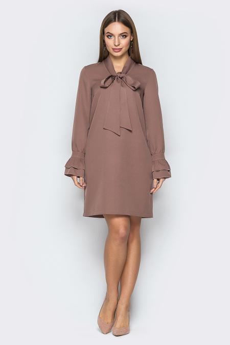 Платье 19-17-30 Бейлиз капучино. Купить оптом и в розницу