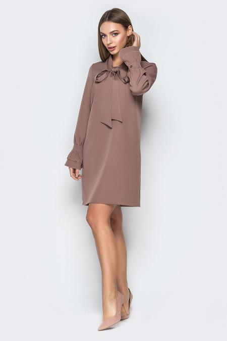 Платье 19-17 бейлиз капучино. Купить оптом и в розницу