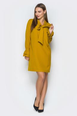 Платье 19-17 бейлиз горчичный