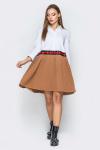 Платье 18-66 свободное плиссе песочное. Купить оптом и в розницу