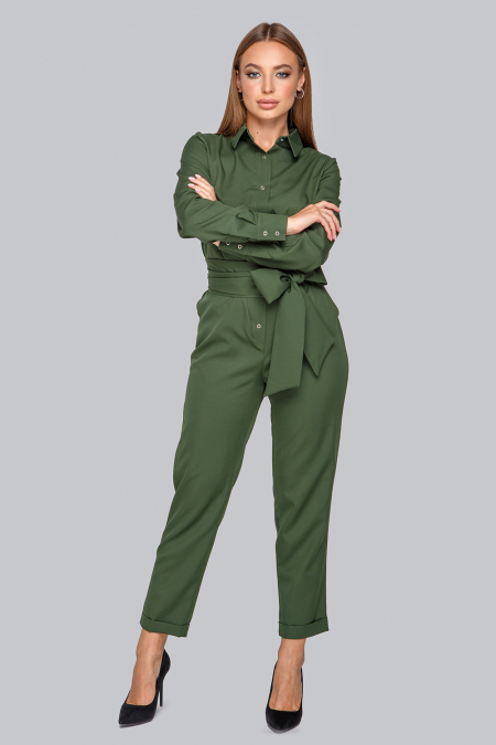 Комбинезон 19-97 с брюками хаки. Купить оптом и в розницу