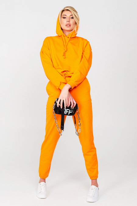 Костюм 21-001-40 худи оранжевый