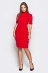 Платье 18-99 гольф красное